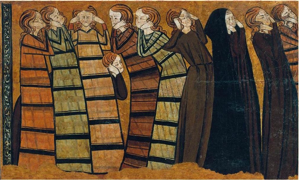 Ploraneres de Sant Andreu de Mahamud. Finals del segle XIII (MNAC)